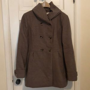 New York & Co Double Breasted Peacoat XL